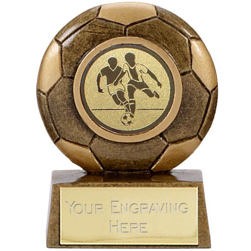 3 Inch Detailed Football Mini Award