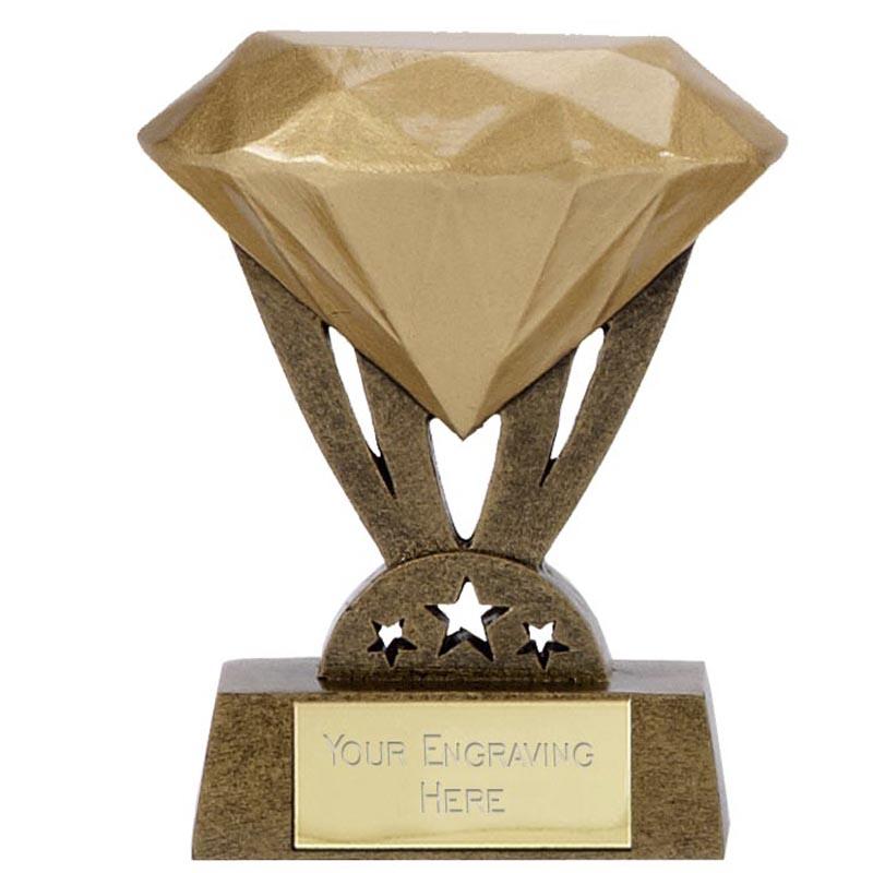 3 Inch Mini Diamond Mini Award
