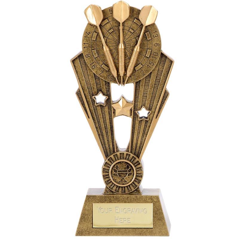 9 Inch Triple Dart Star Darts Fame Award