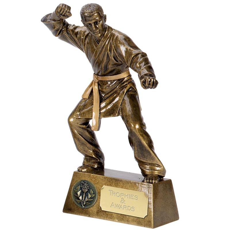 7 Inch Karate Master Martial Arts Pinnacle Statue