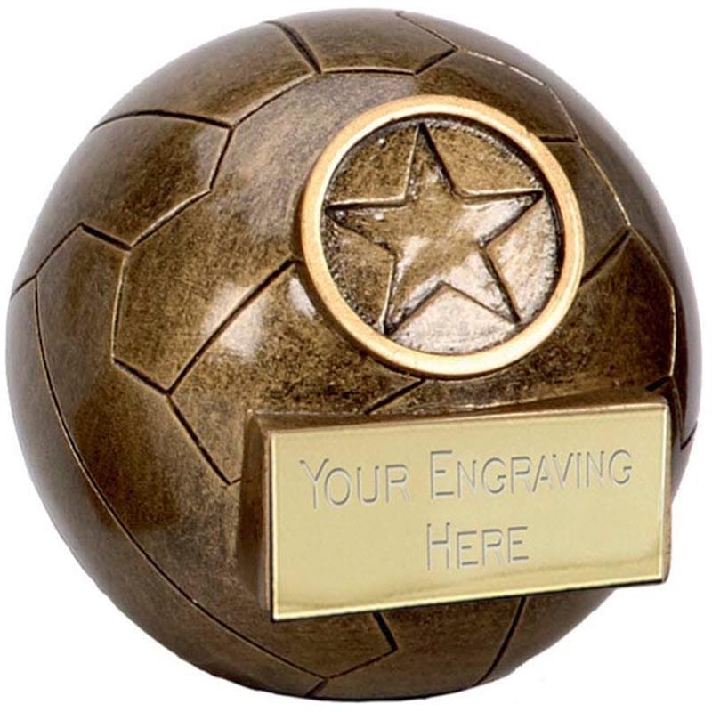 3 Inch Detailed Netball Netball Premier Award