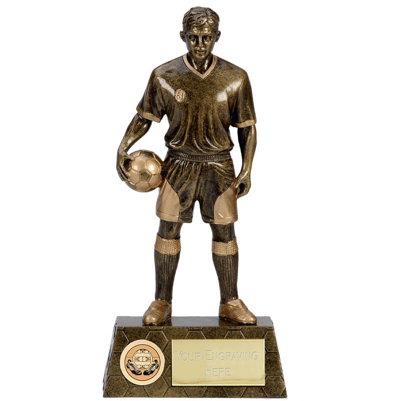 9 Inch Imposing Football Epic Statue