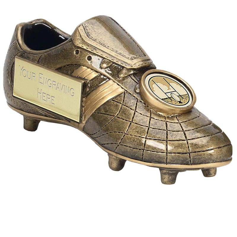 High Detail Boot Rugby Premier Award