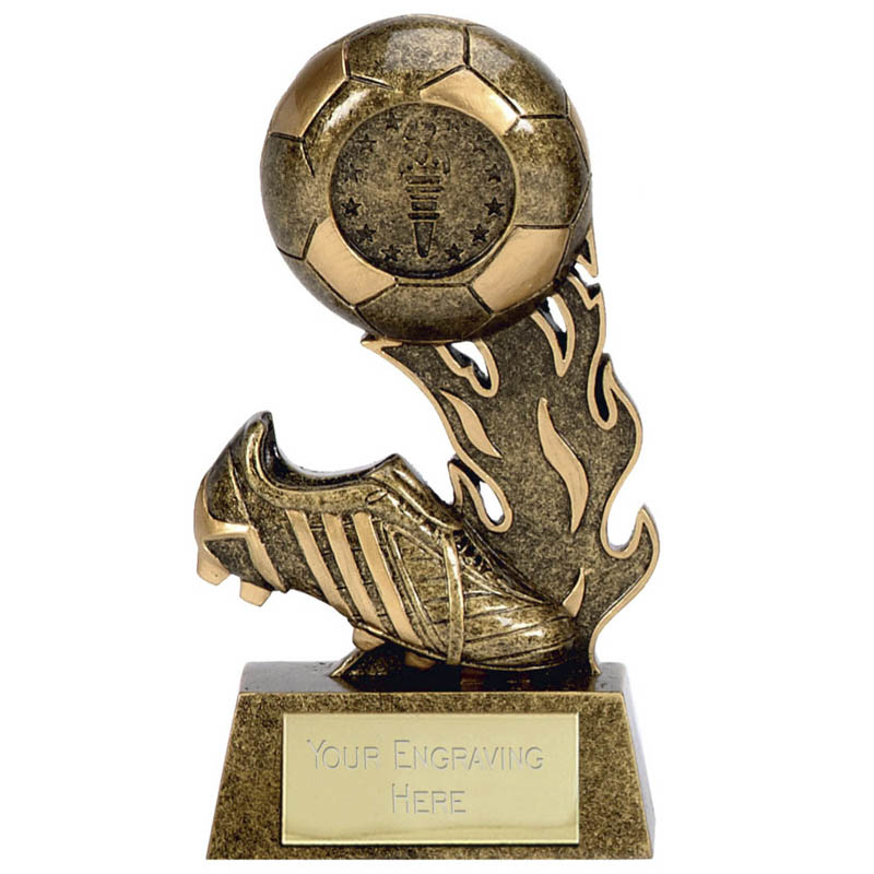 5 Inch Boot & Ball Football Scorcher Award
