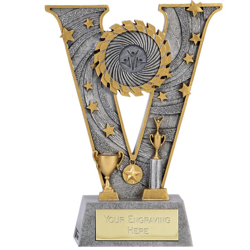 5 Inch Multisport Trophy V Series Award
