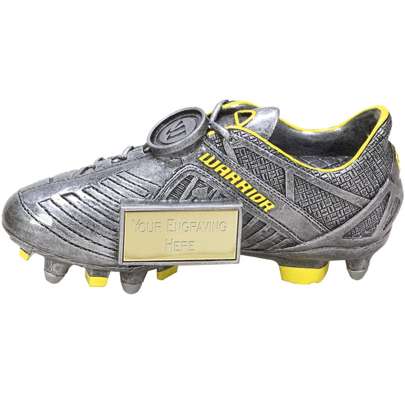 6 Inch Detailed Boot Football Rise Up Award