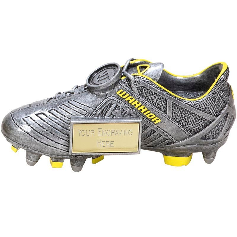 7 Inch Detailed Boot Football Rise Up Award