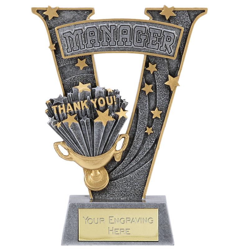 Coach Thank You Football V Series Award