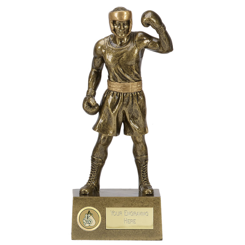 Victorious Boxer Boxing Knockout Statue