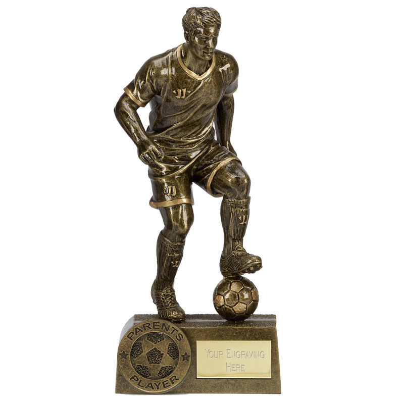 8 Inch Parents Player Football Warrior Statue