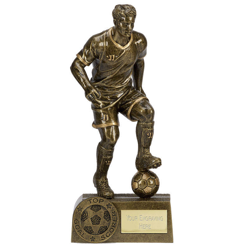 top goal scorer Football Warrior Statue