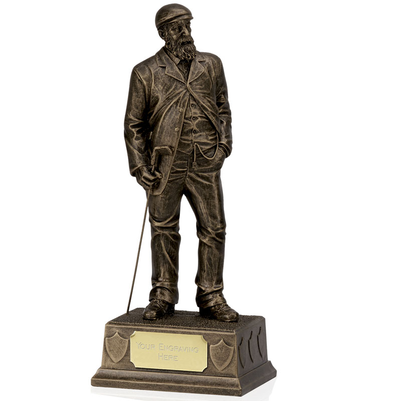 9 Inch Veteran Golf Stature Statue