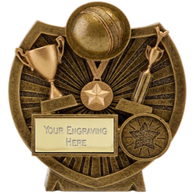 5 Inch Ball & Trophies Cricket Century Shield Award