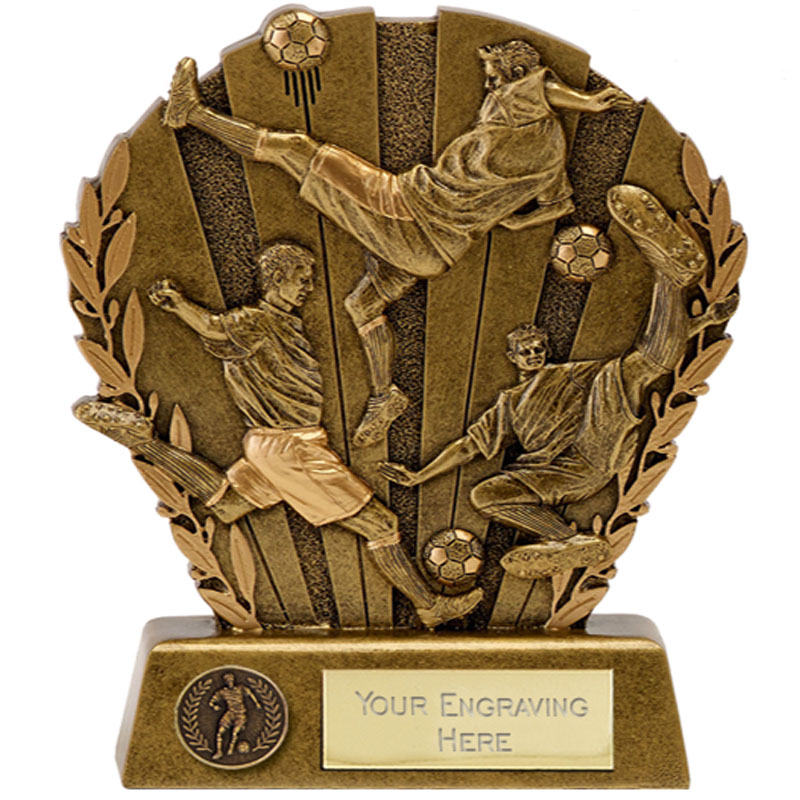 4 Inch Diorama Football Direction Award