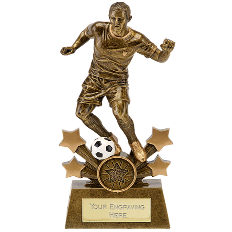 7 Inch Soccer Stars Football Explosion Statue