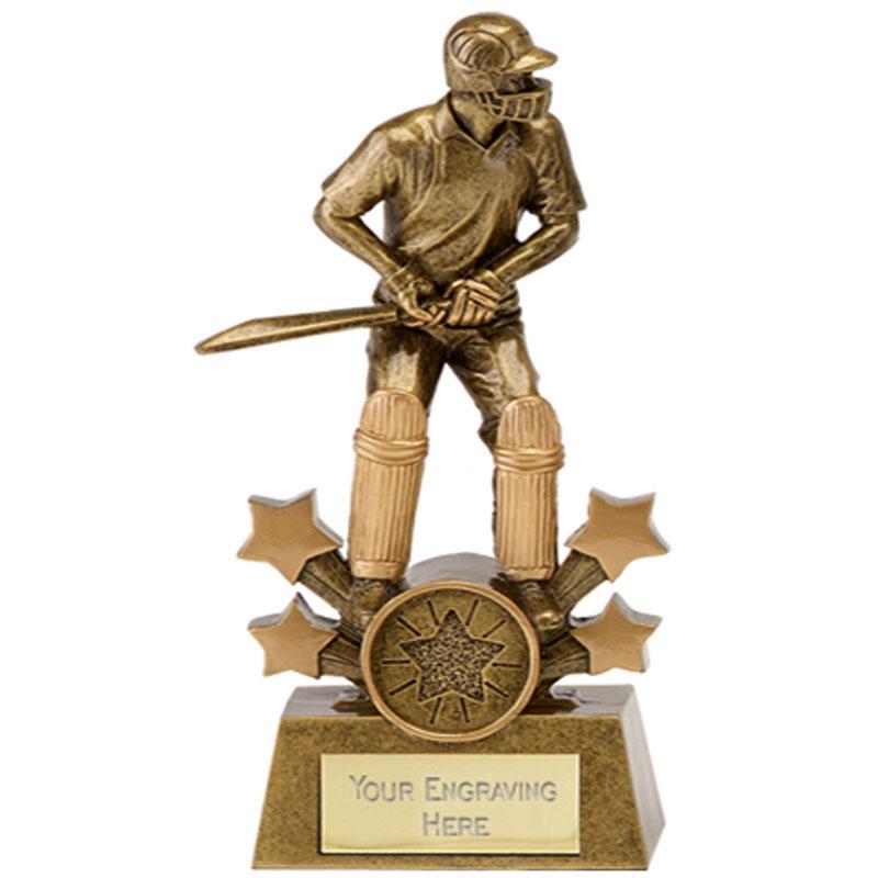 8 Inch Batsman Cricket Explosion Award