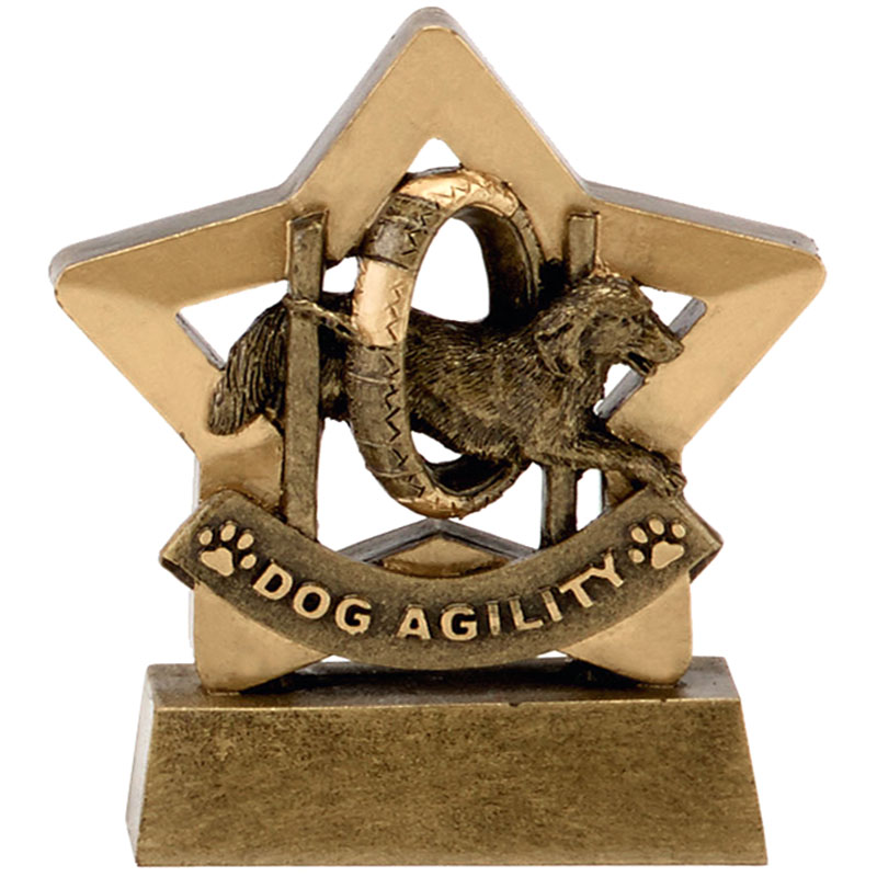 3 Inch Dog Agility Pets Mini Star Award