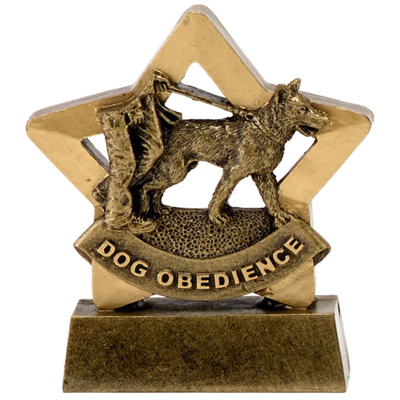 Dog Obedience Pets Mini Star Award
