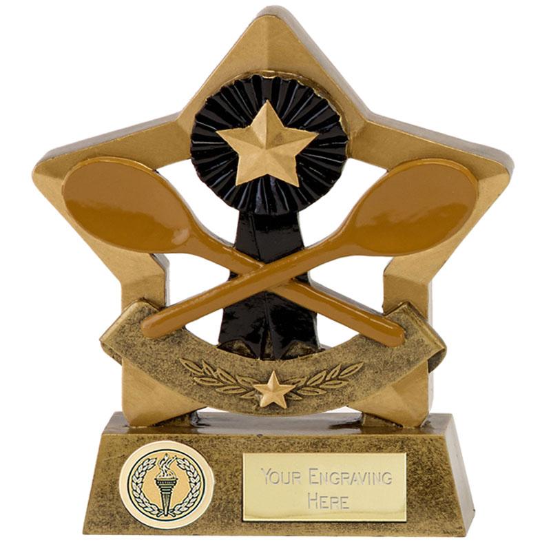 6 Inch Wooden Spoon Mini Star Award