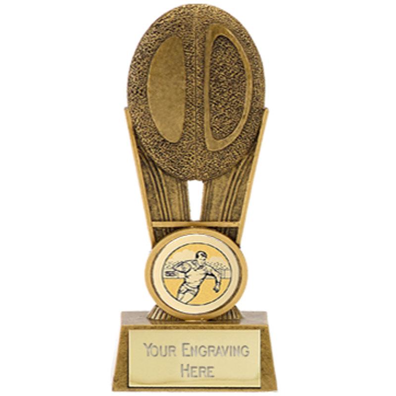 5 Inch Flatback Ball Rugby Focus Award