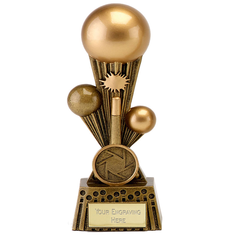 6 Inch Cue Shot Snooker & Pool Focus Award