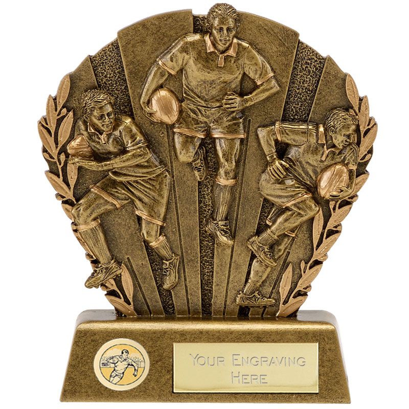 5 Inch Diorama Rugby Direction Award