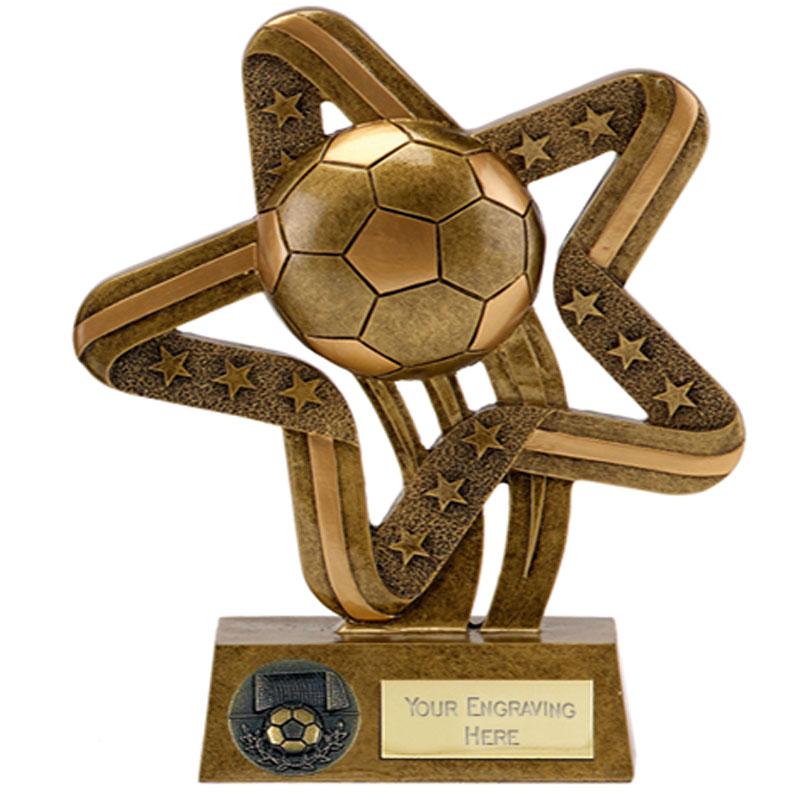 Flying Ball Football Stars & Stripes Star Award