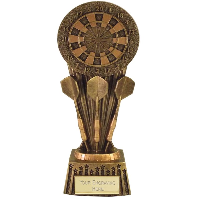 7 Inch Dartboard & Darts Darts Focus Award