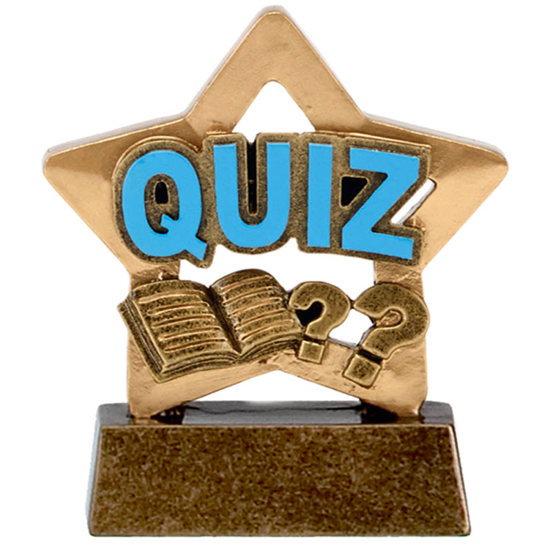 Quizsheet & Books Quiz Mini Star Award