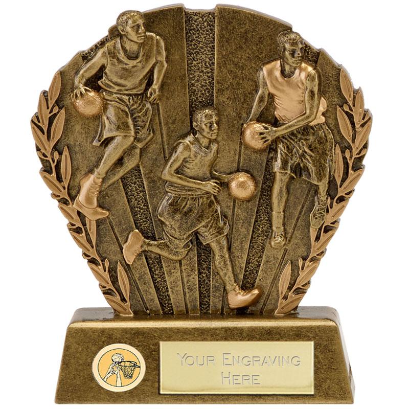 5 Inch Team Basketball Direction Award