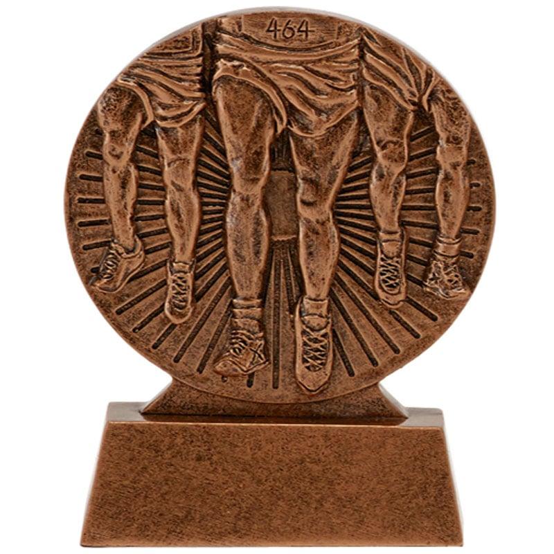 Bronze Runners Legs Running Flow Award