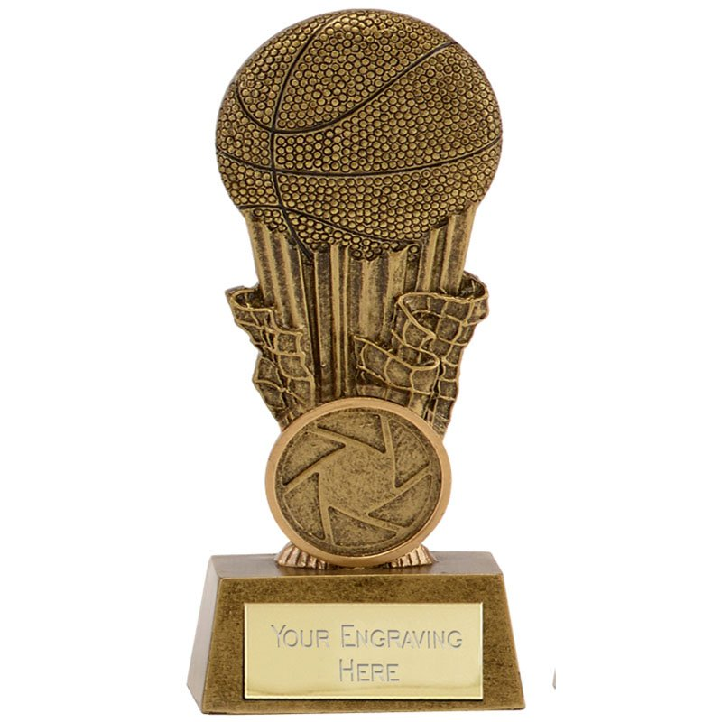 4 Inch Torch Basketball Focus Award