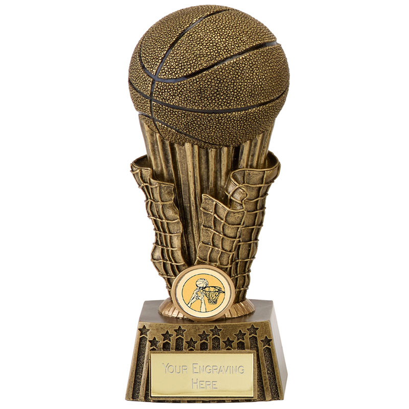 8 Inch Torch Basketball Focus Award