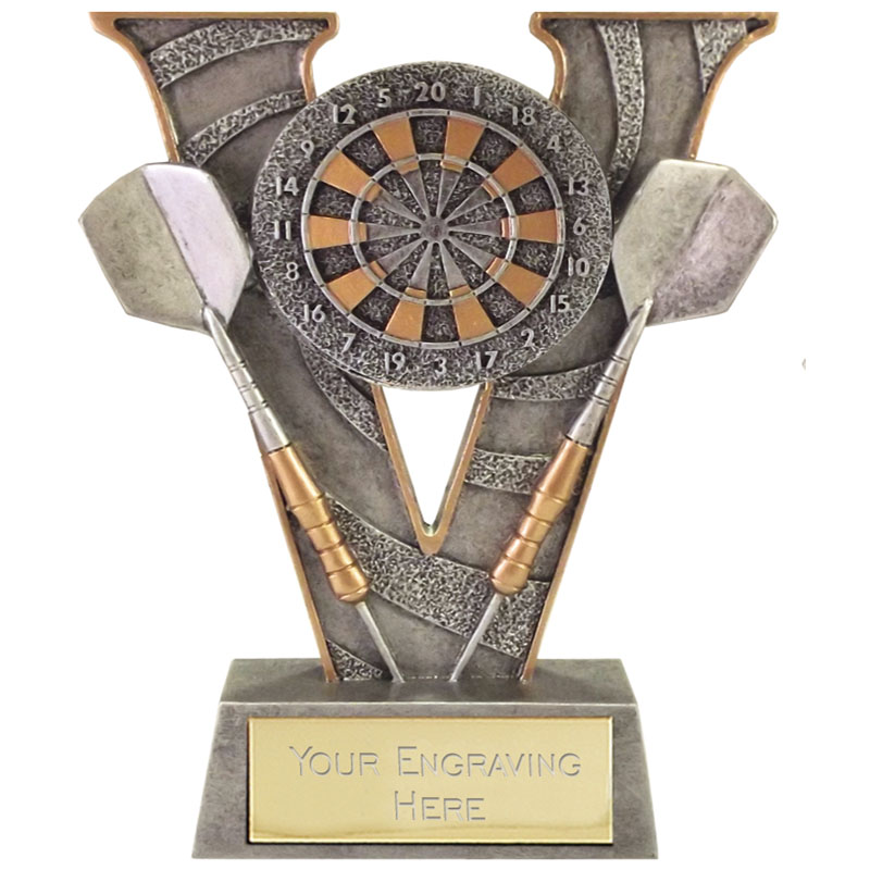 5 Inch High Detail Dartboard Darts V Series Award