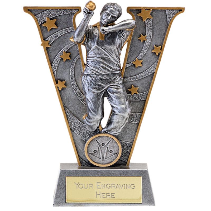 7 Inch Ready to Bowl Cricket V Series Award