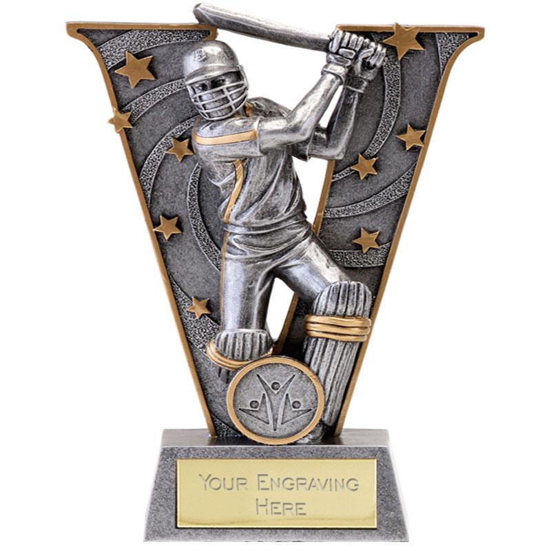 6 Inch Batsman Cricket V Series Award