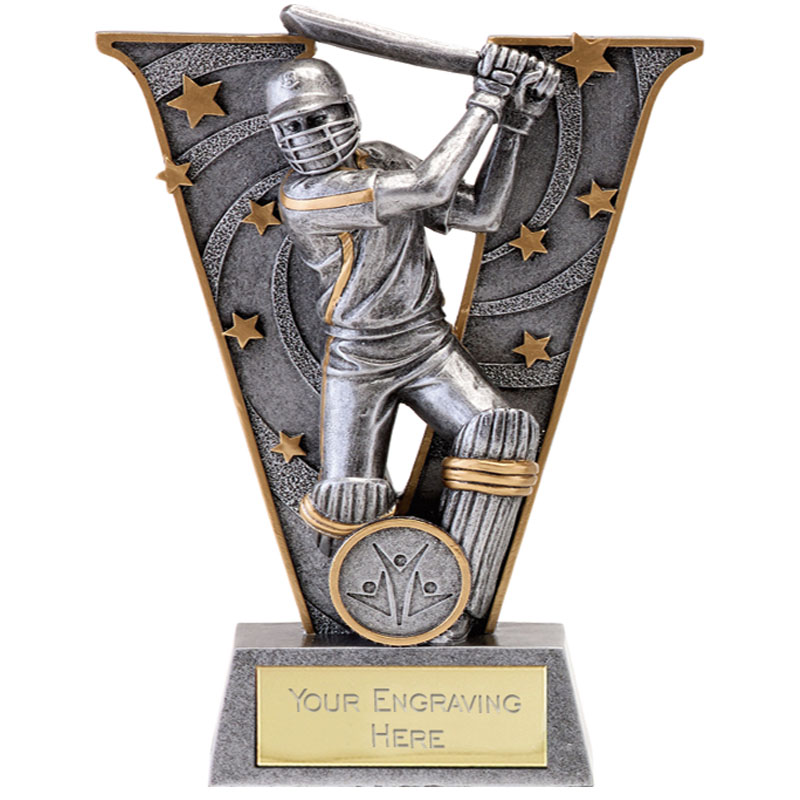 7 Inch Batsman Cricket V Series Award