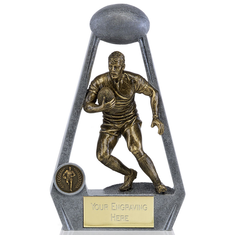 5 Inch Archway Rugby Bling Statue