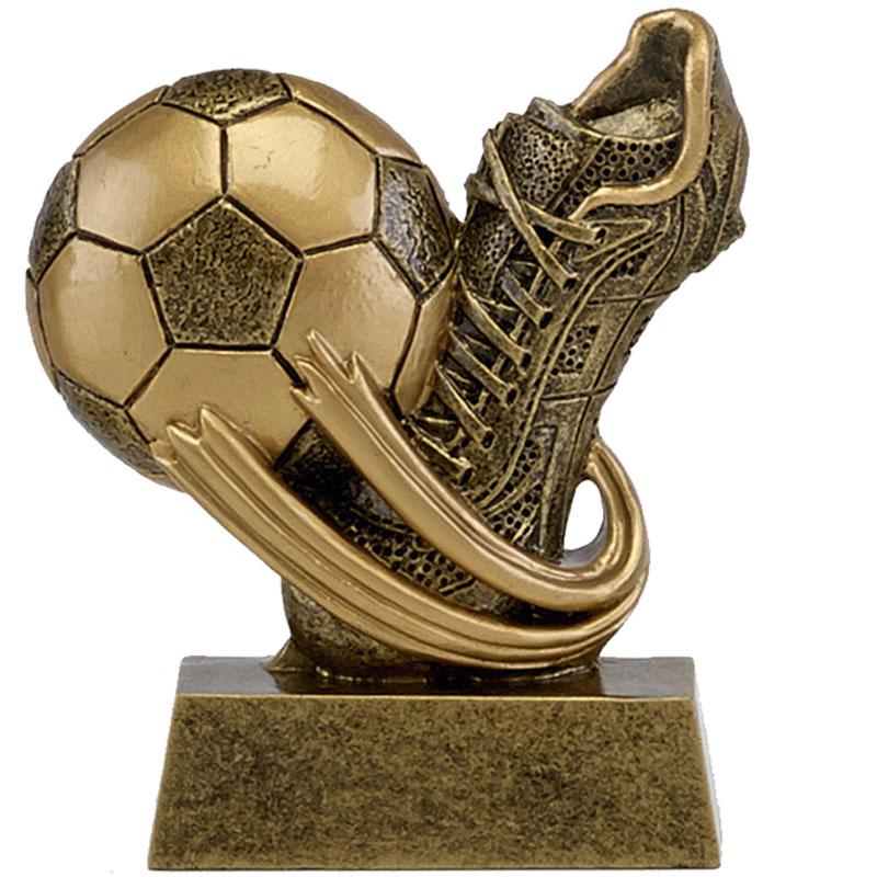 3 Inch Boot & Ball Football Mini Award