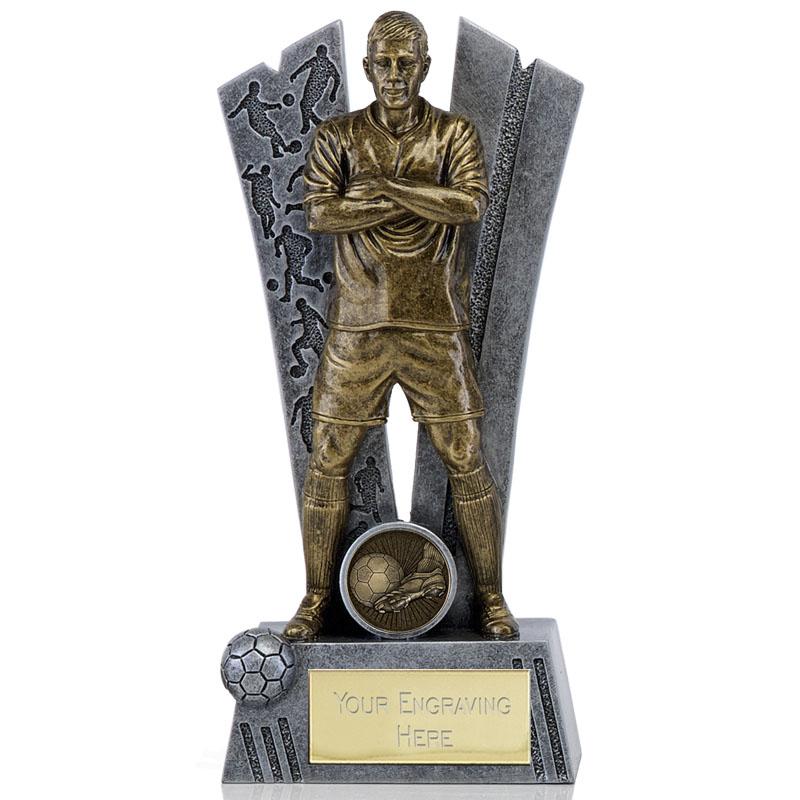 Defender Football Hero Statue