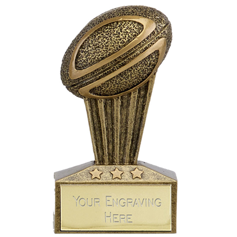 3 Inch Ball Rugby Micro Award