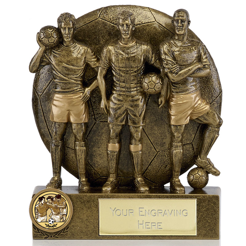 Teammates Football Spirit Statue