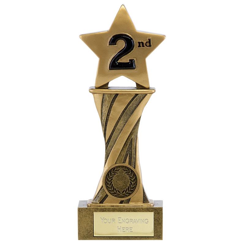 7 Inch 2nd Place Star Spiral Showcase Award