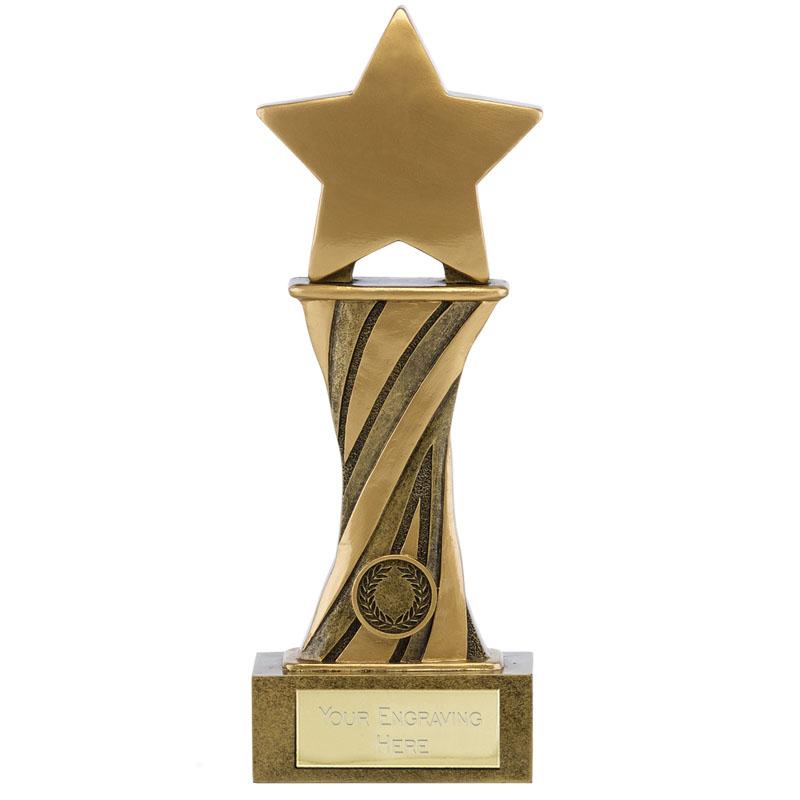 9 Inch Star Spiral Showcase Award