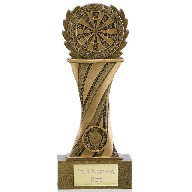 7 Inch Dartboard Podium Darts Showcase Award
