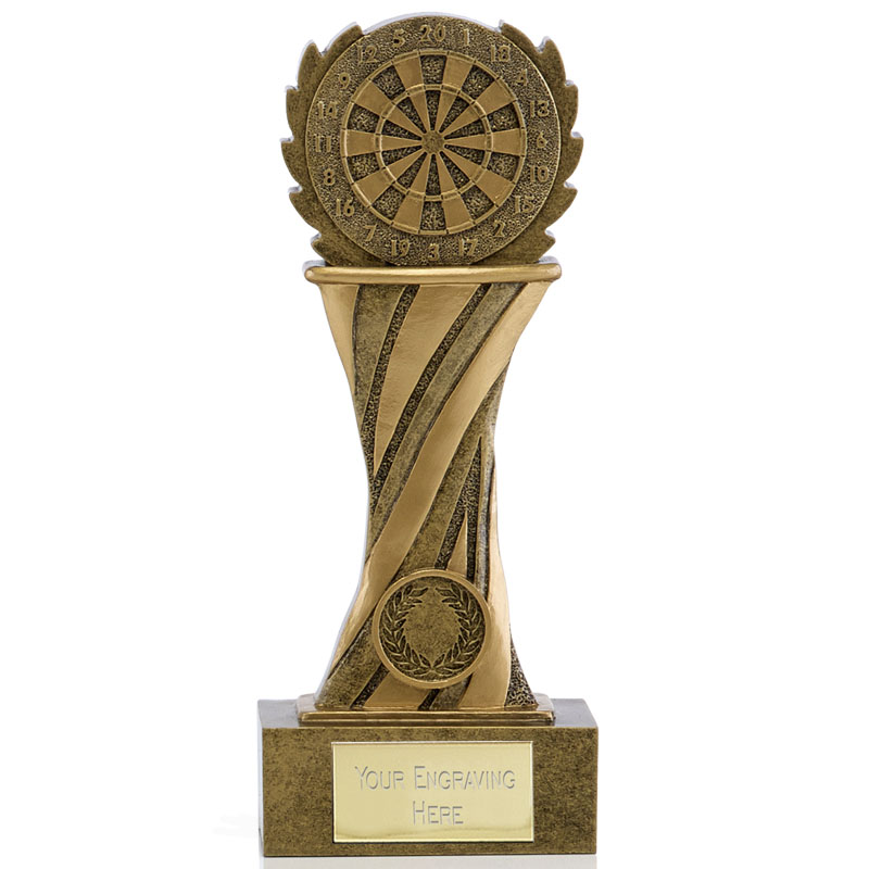 Dartboard Podium Darts Showcase Award