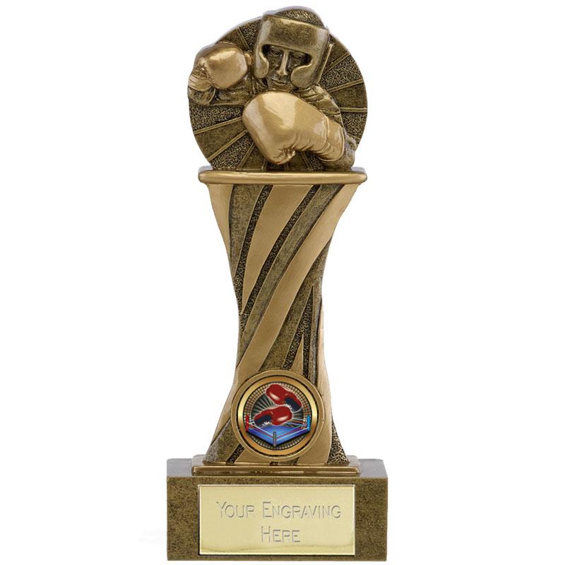 10 Inch Right Hook Podium Boxing Showcase Award
