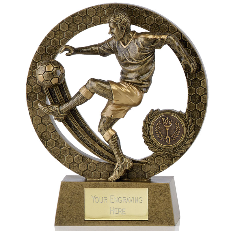 5 Inch Volley Football Nova Award
