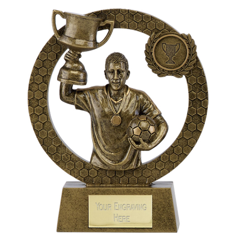 Cup Winner Football Bling Award