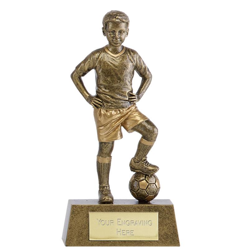 5 Inch Boys Soccer Football Phoenix Statue